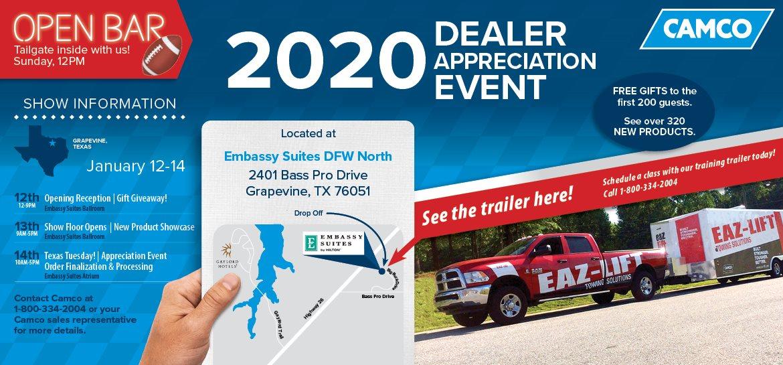 Dealer Appreciation Event 2020