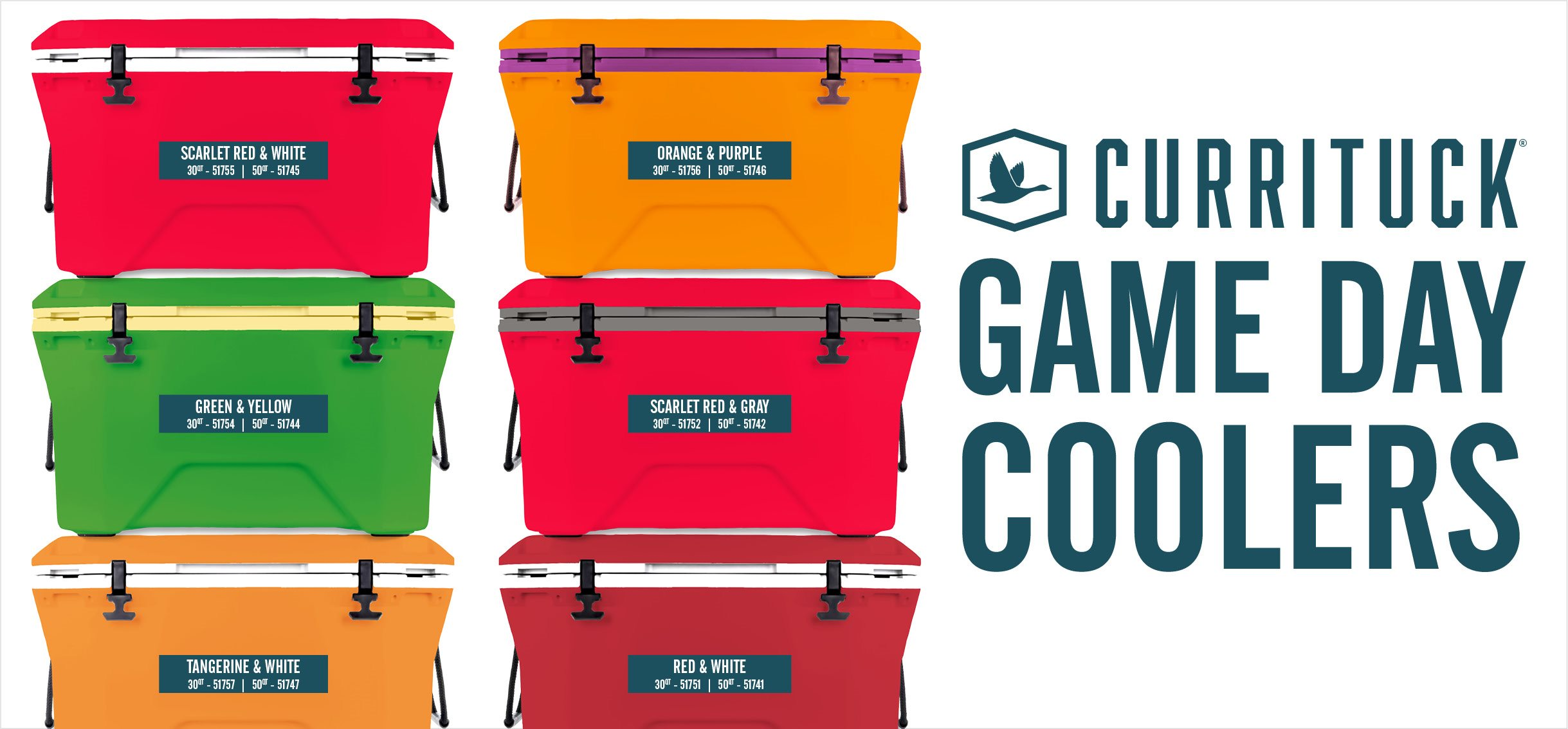Game day coolers banner